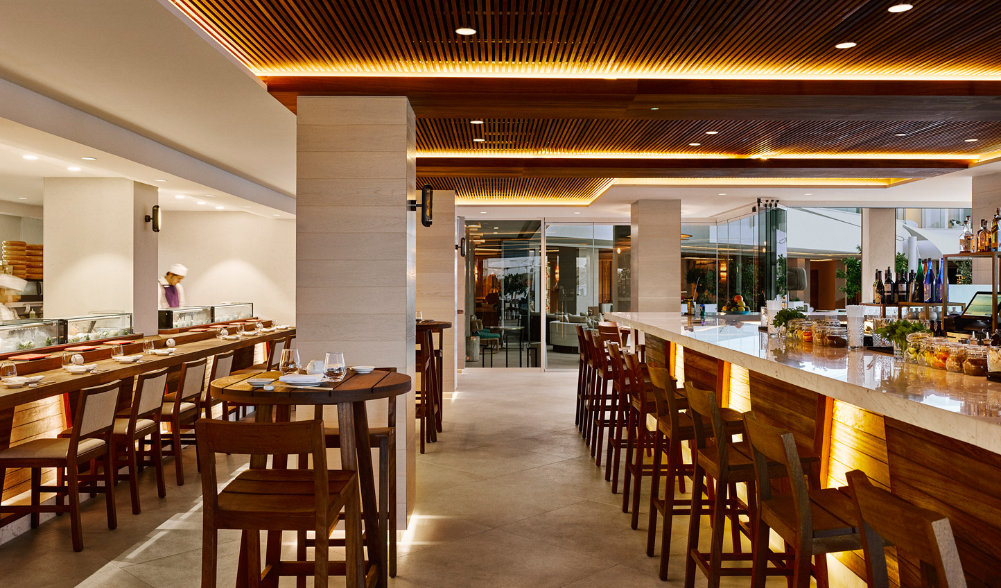 Indulge your senses with a meal at Nobu