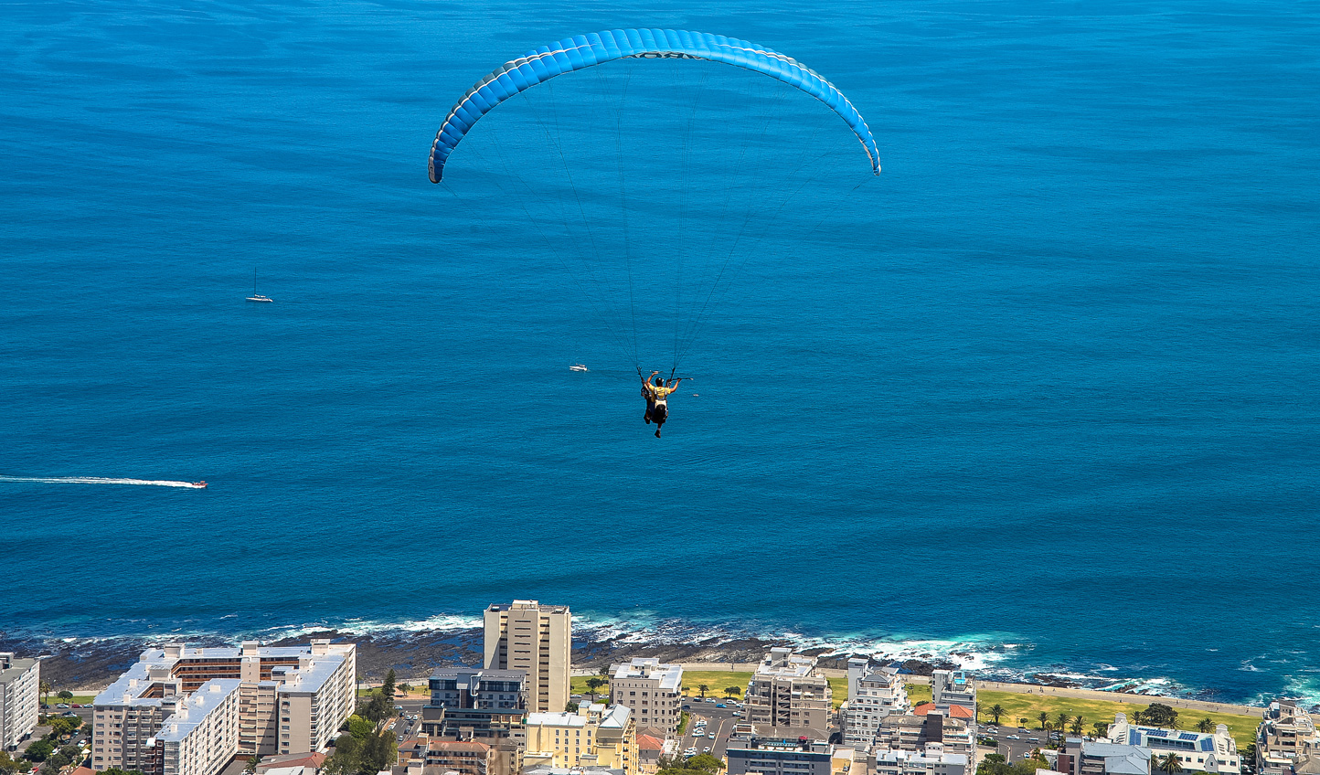 Take off on a paragliding adventure