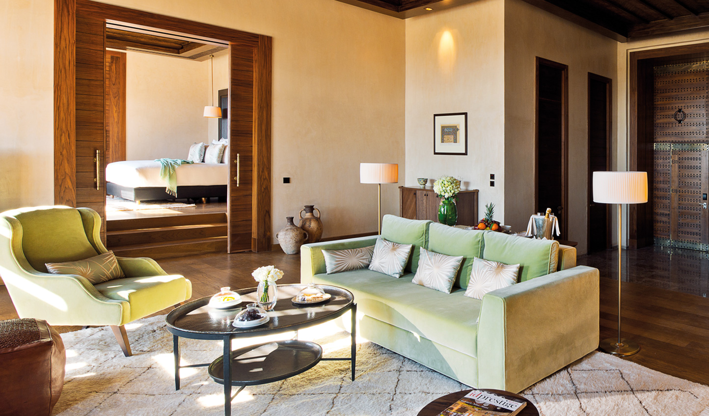 Moroccan luxury in your suite