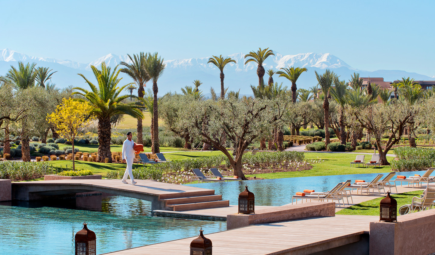 Feeling the blazing heat of the Moroccan sun and seeing snow capped mountains is such a surreal experience