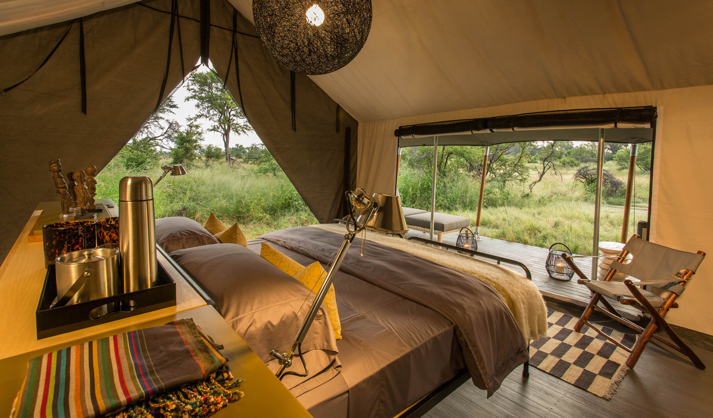 Tents that immerse you in the plains