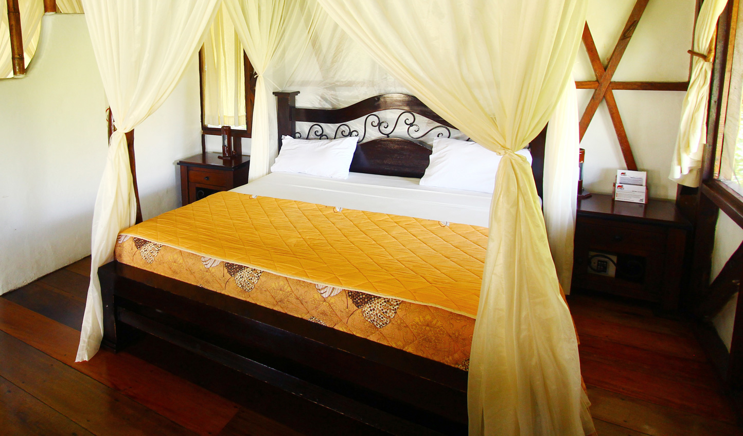 Traditional Amazonian touches without compromising on comfort