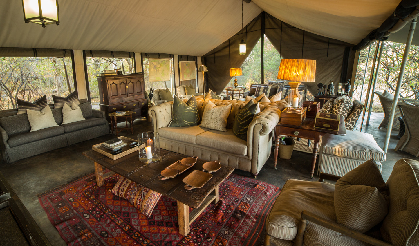 Comfortable and luxurious tented suites await you