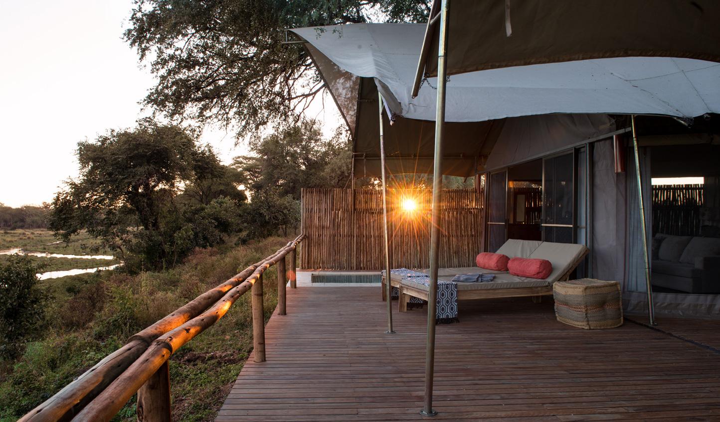 Watch a Zambian sunset
