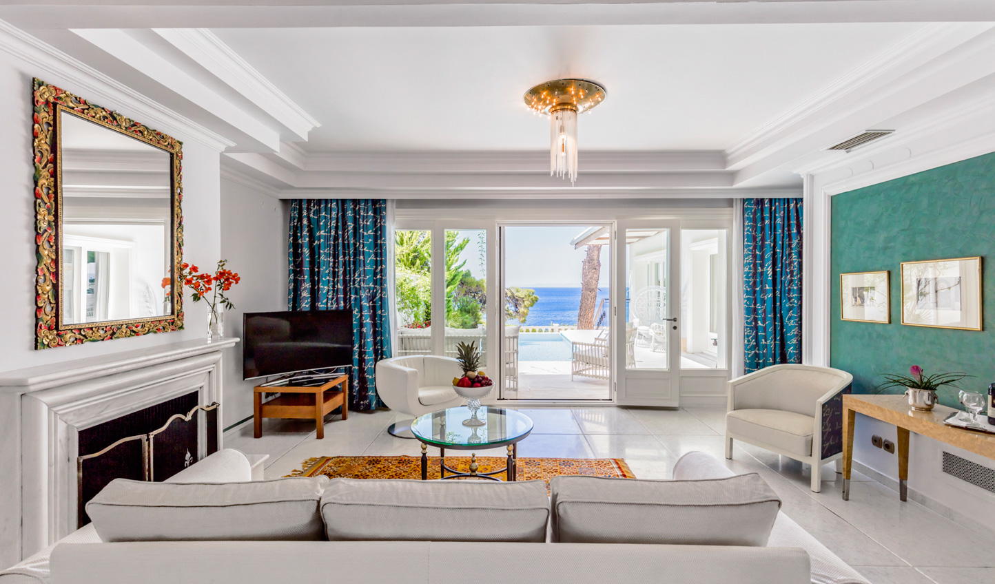 Step from your suite onto the beach
