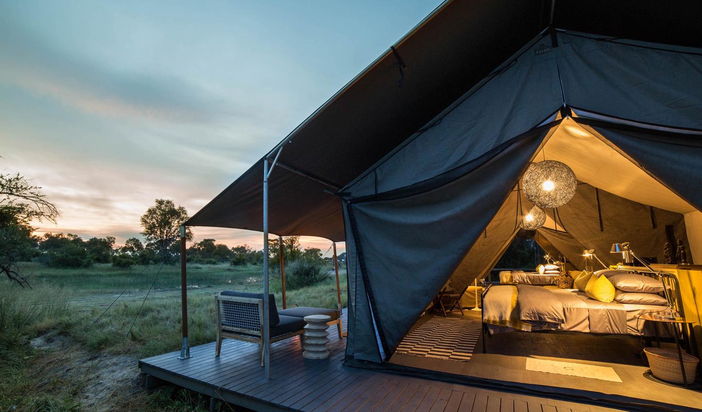 Luxury tents