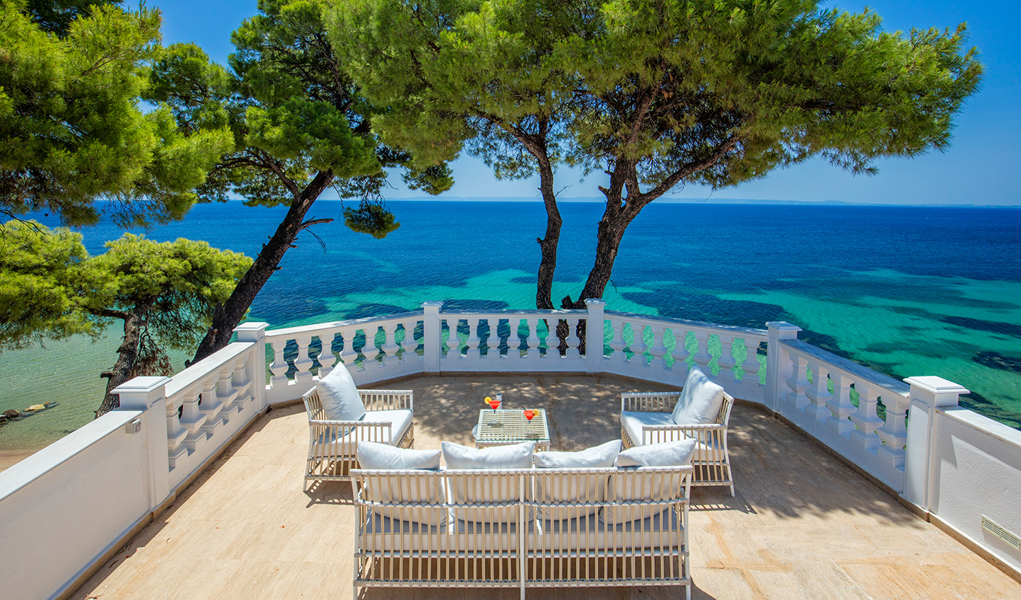 Enjoy spectacular views from your private terrace