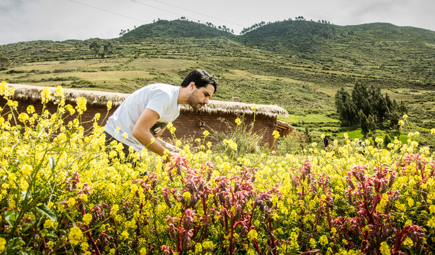 Join Virgilio and forage for some of the country's most unique ingredients