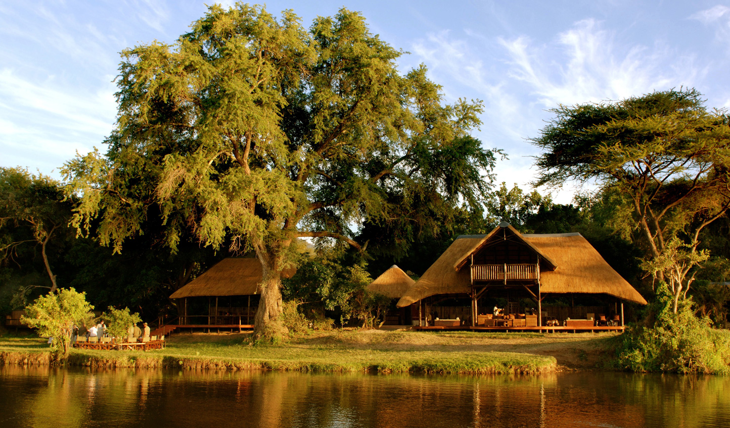 Retreat to one of the most enviable addresses on the Zambezi River