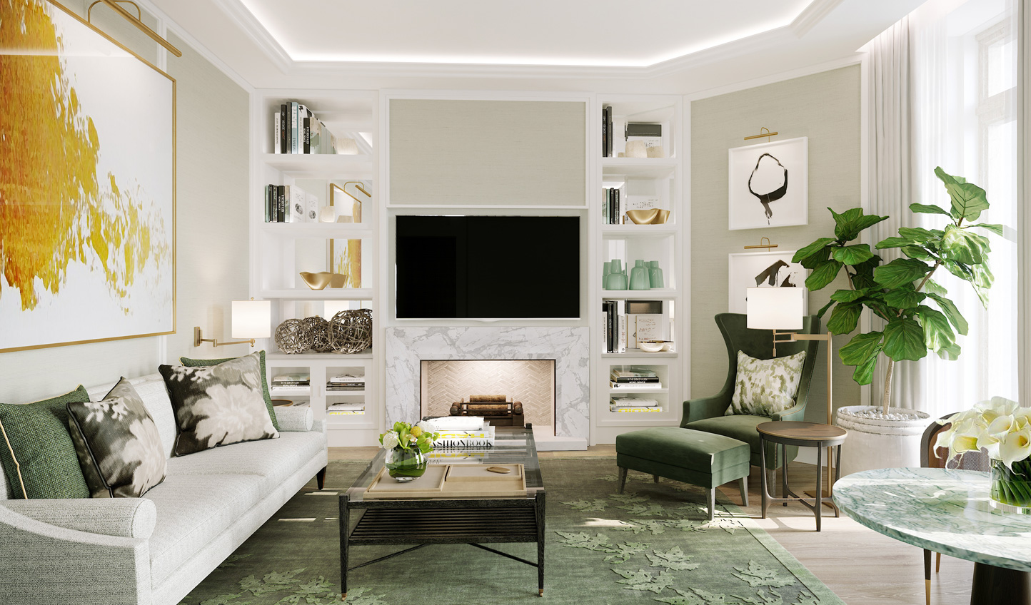 A fresh and contemporary take in the Garden Suite