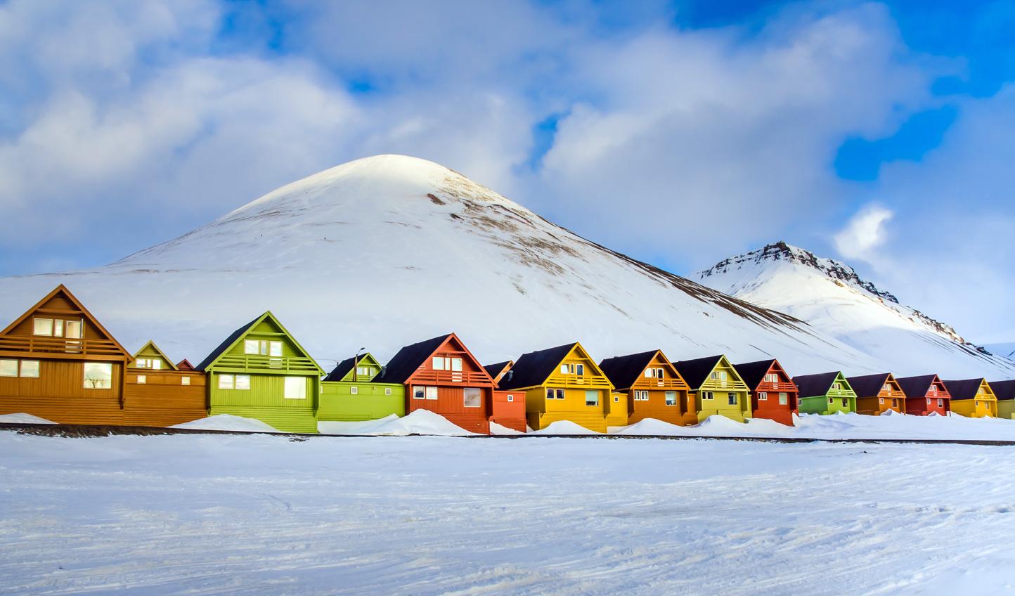 Head north to Longyearbyen
