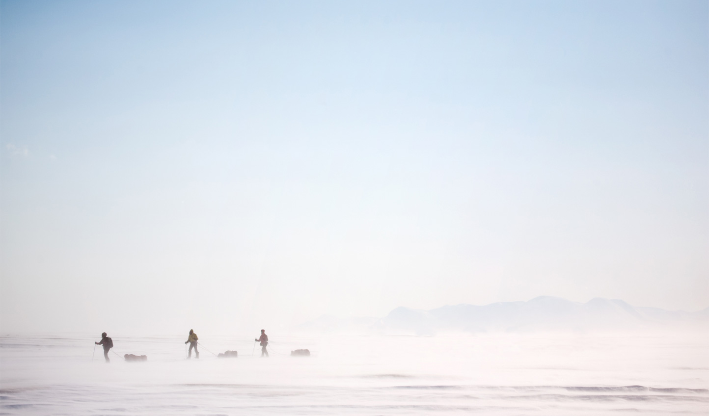 Master arctic survival and ski through snow storms