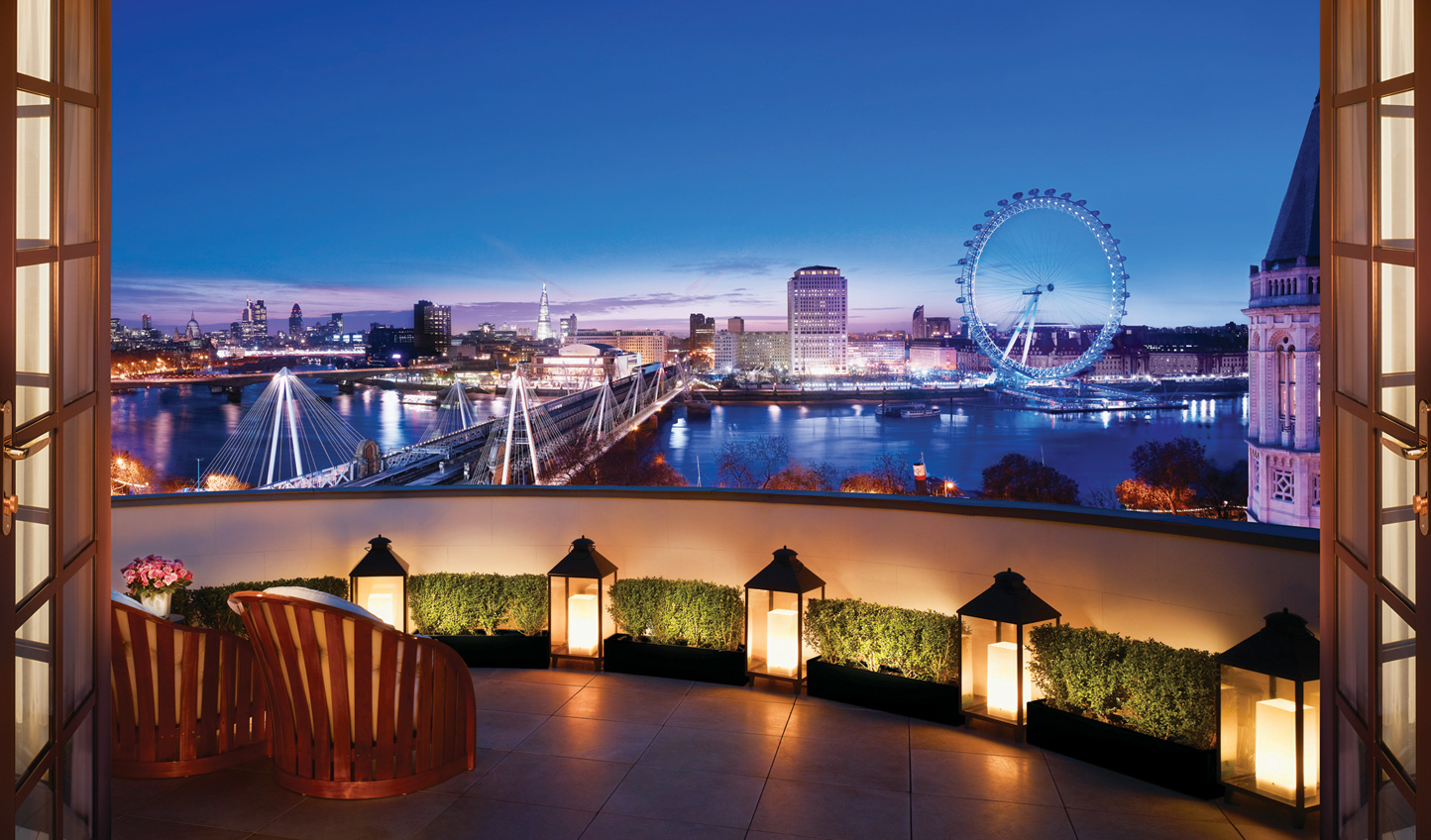 An enviable location overlooking iconic London sights