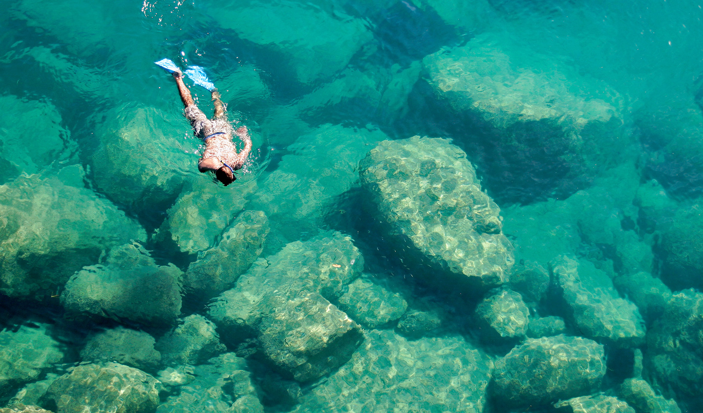 Snorkel the crystal clear waters of Lake Malawi