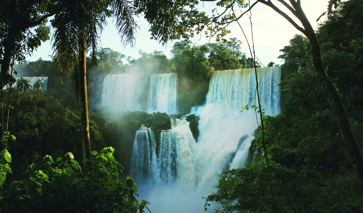 Take in the wonder of the Iguazu Falls