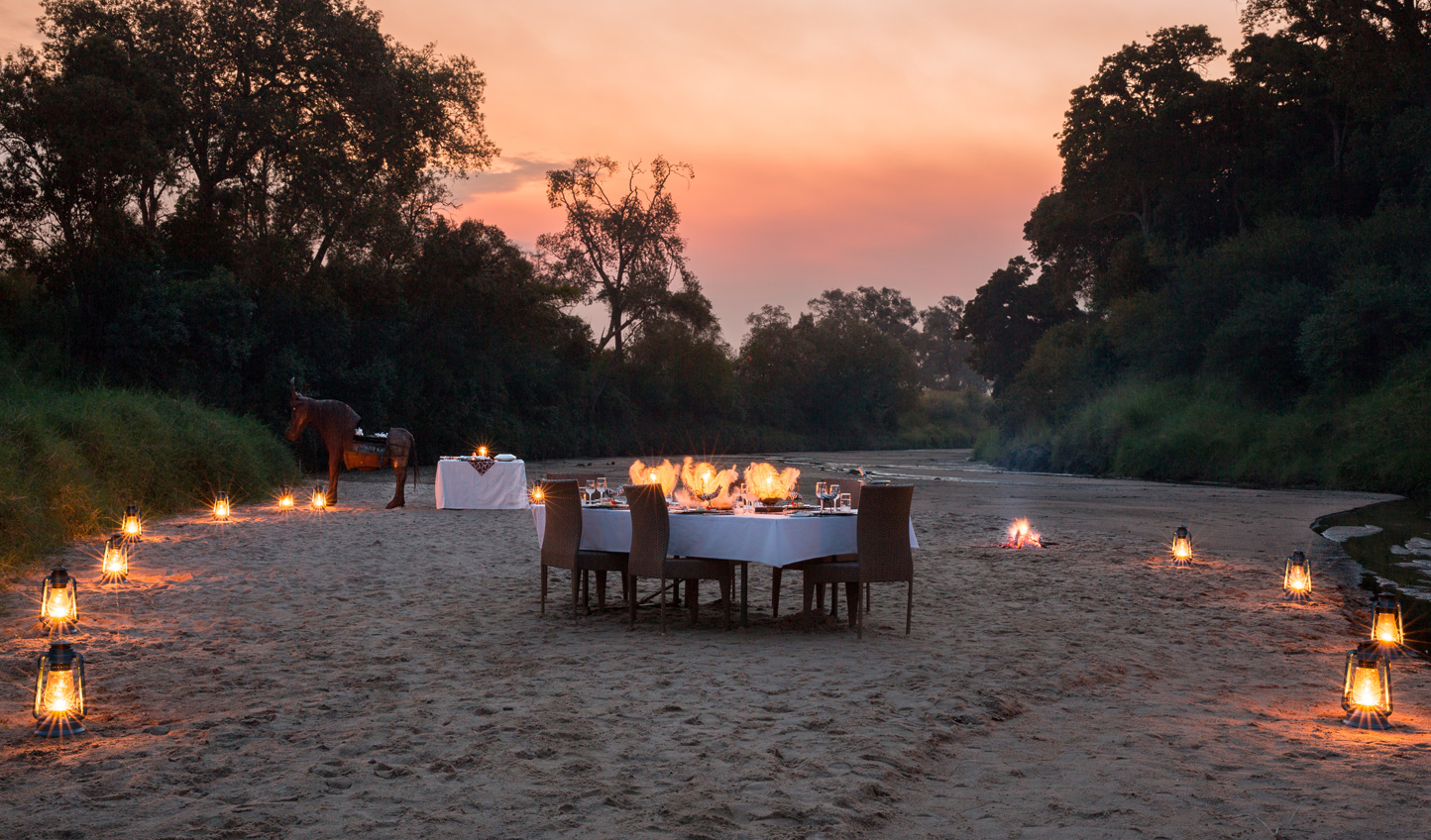 Have a romantic river dinner