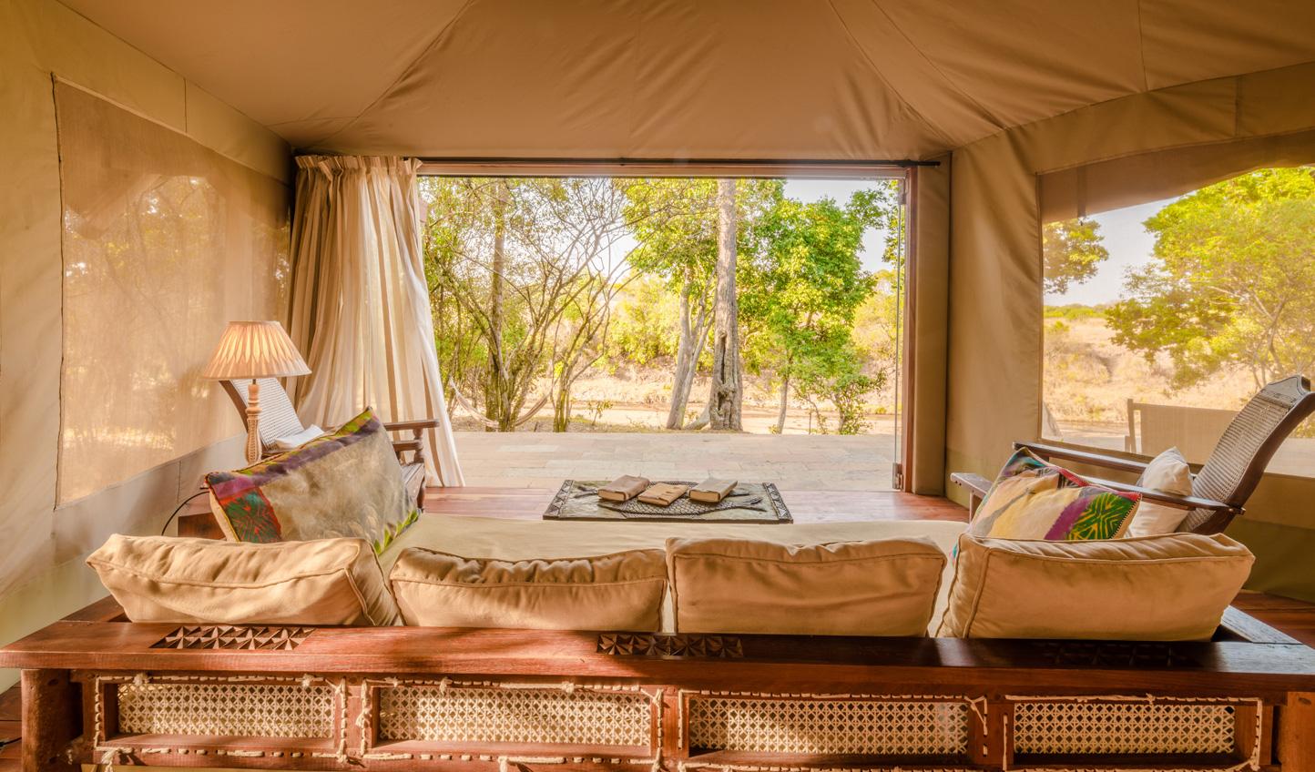 Views over the Maasai Mara