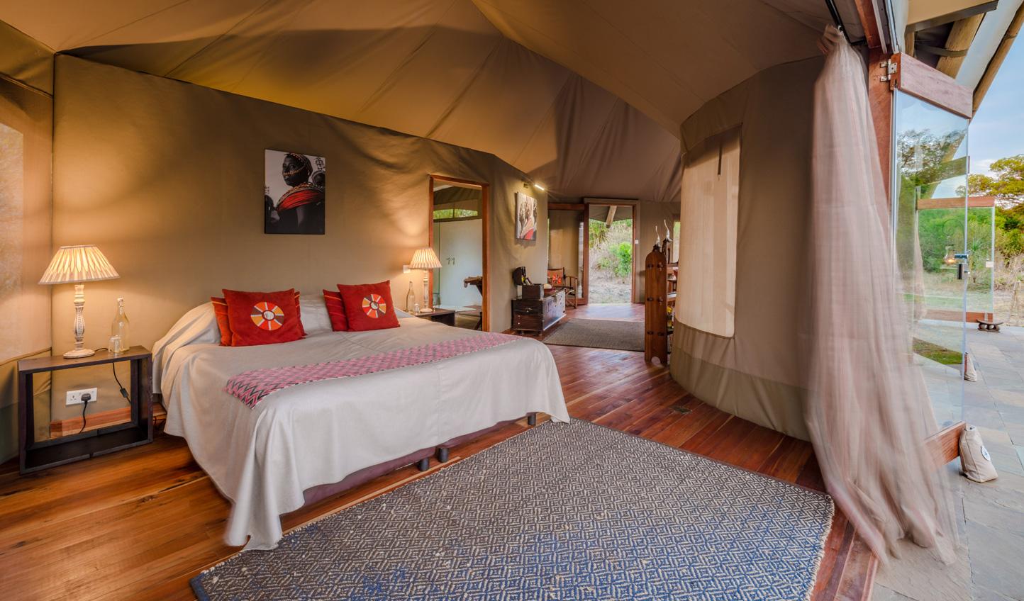 Comfortable rooms at Sala's