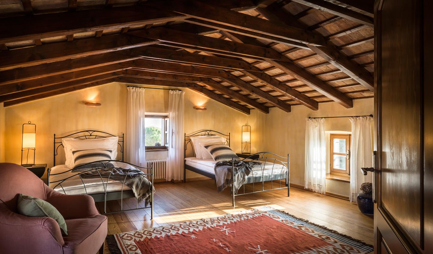 Sweet little twin rooms