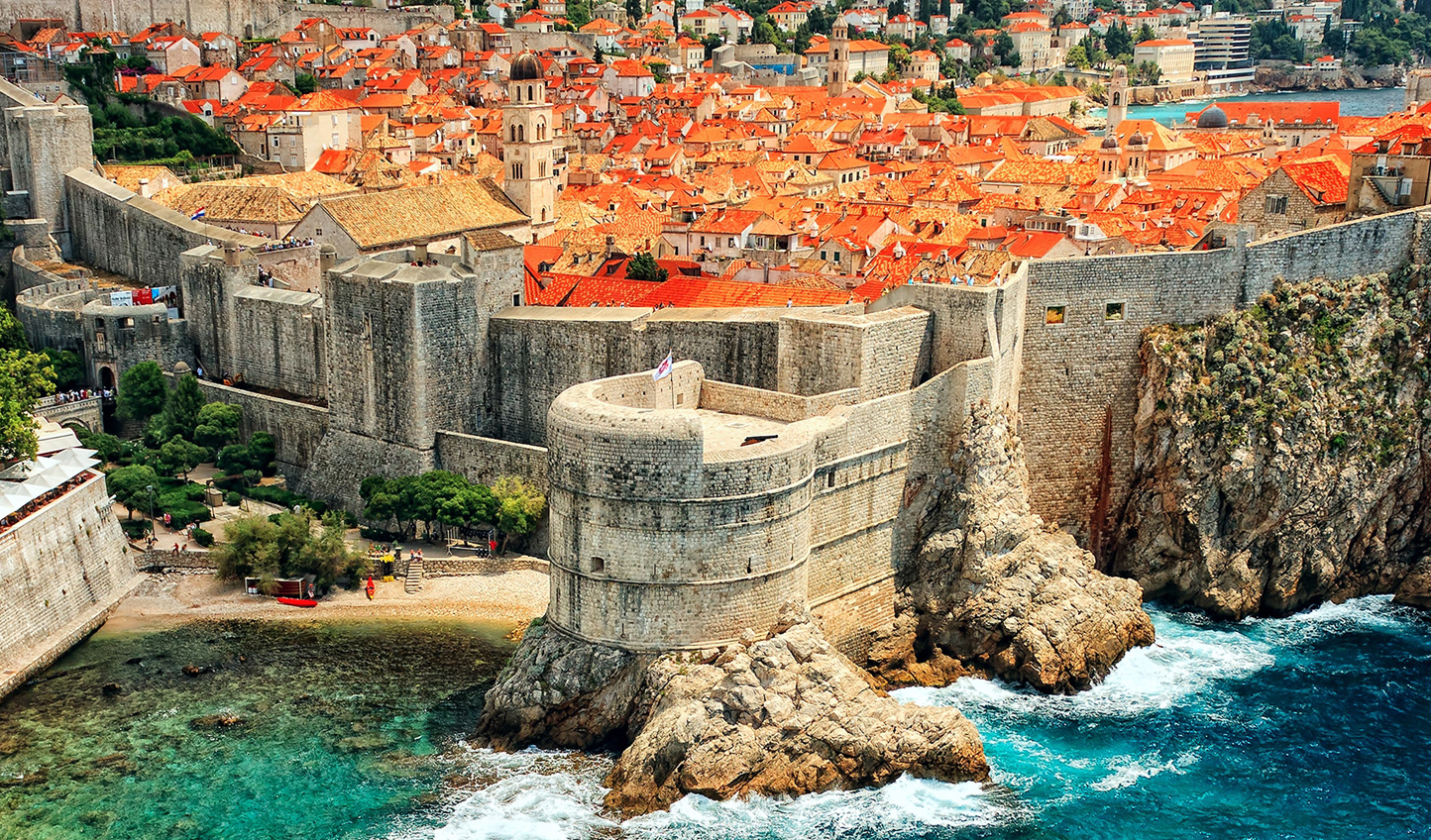 View of fairy-tale Dubrovnik
