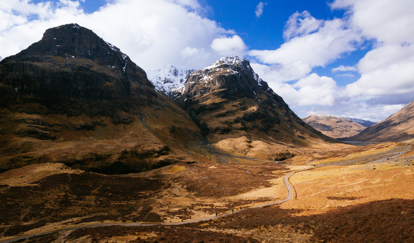 Discover hidden valleys in the depths of Glencoe