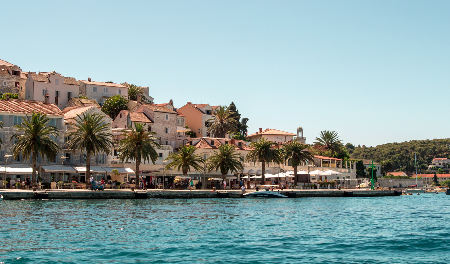 Stroll through sundrenched Hvar