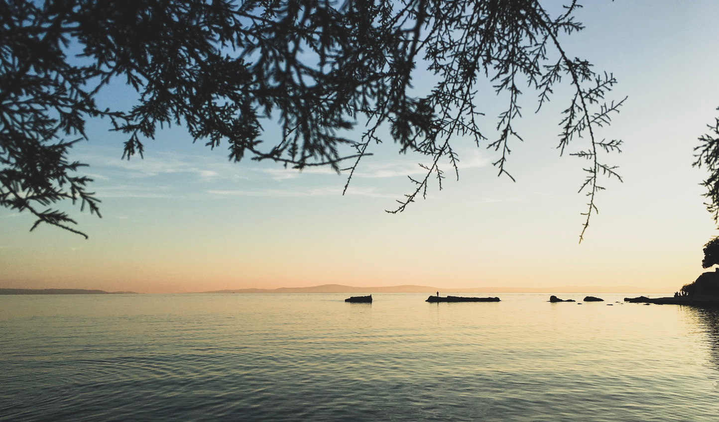 Gaze out onto tranquil sunsets on Split