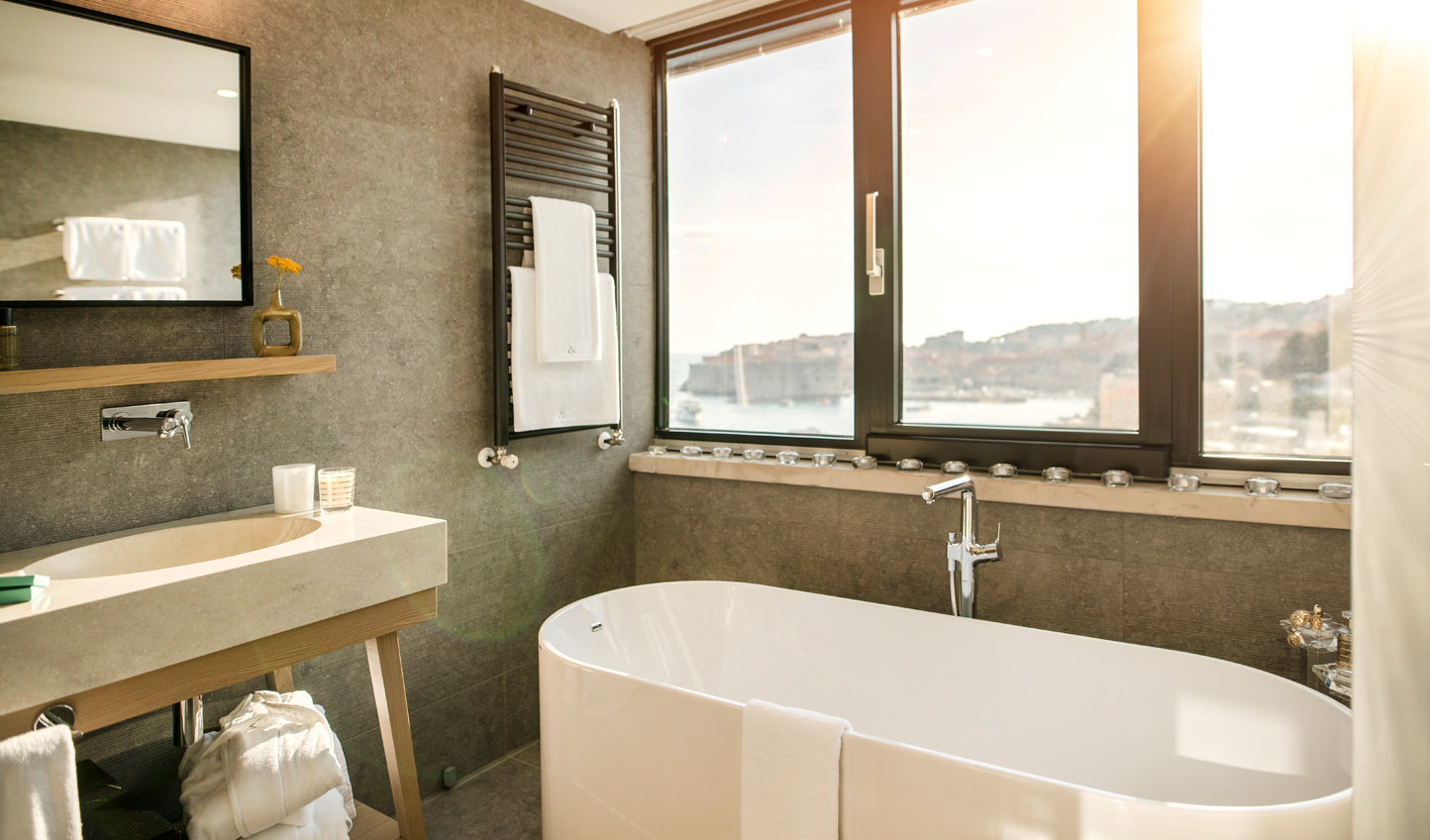 Modern luxury on the cusp of the old world of Dubrovnik