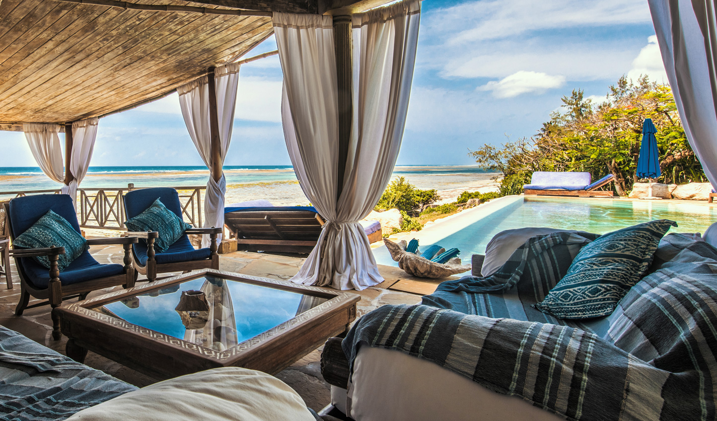 Relax on the Kenyan coast