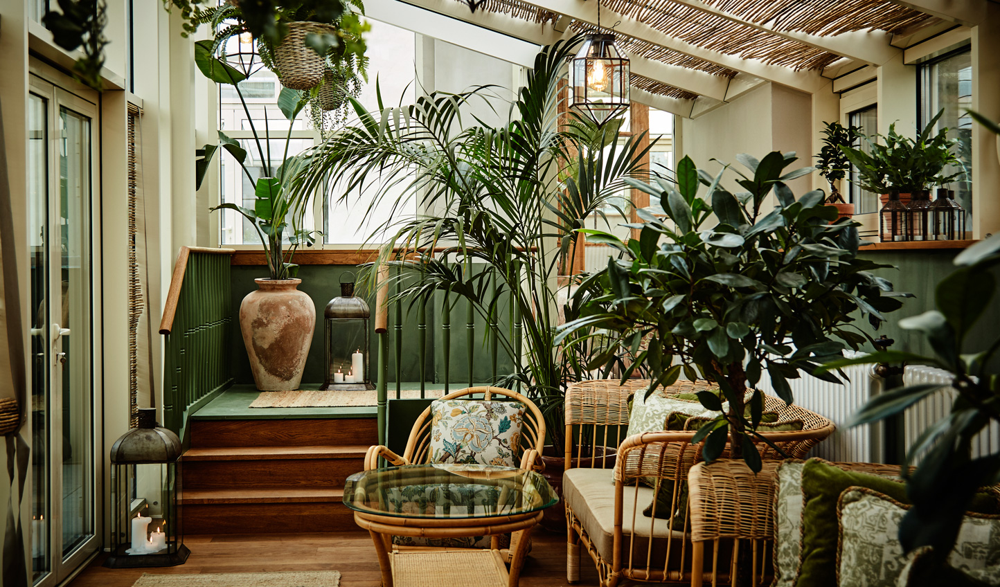 Escape the pace of city life at Sanders Conservatory