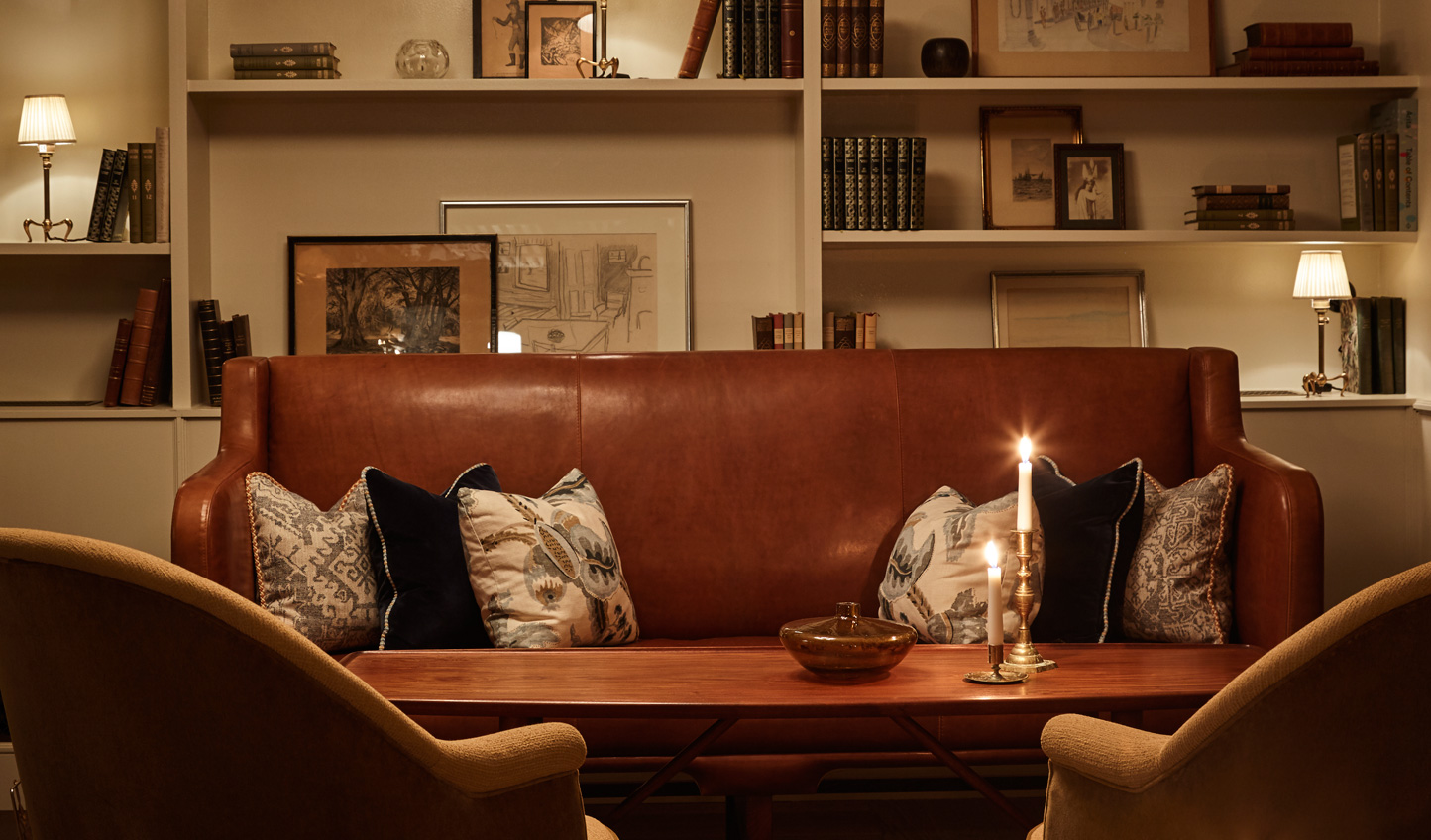 Cosy up with an aperitif or a cup of cocoa