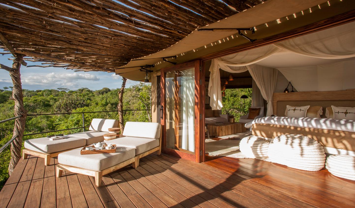 Experience unrivaled luxury at Mwiba Lodge