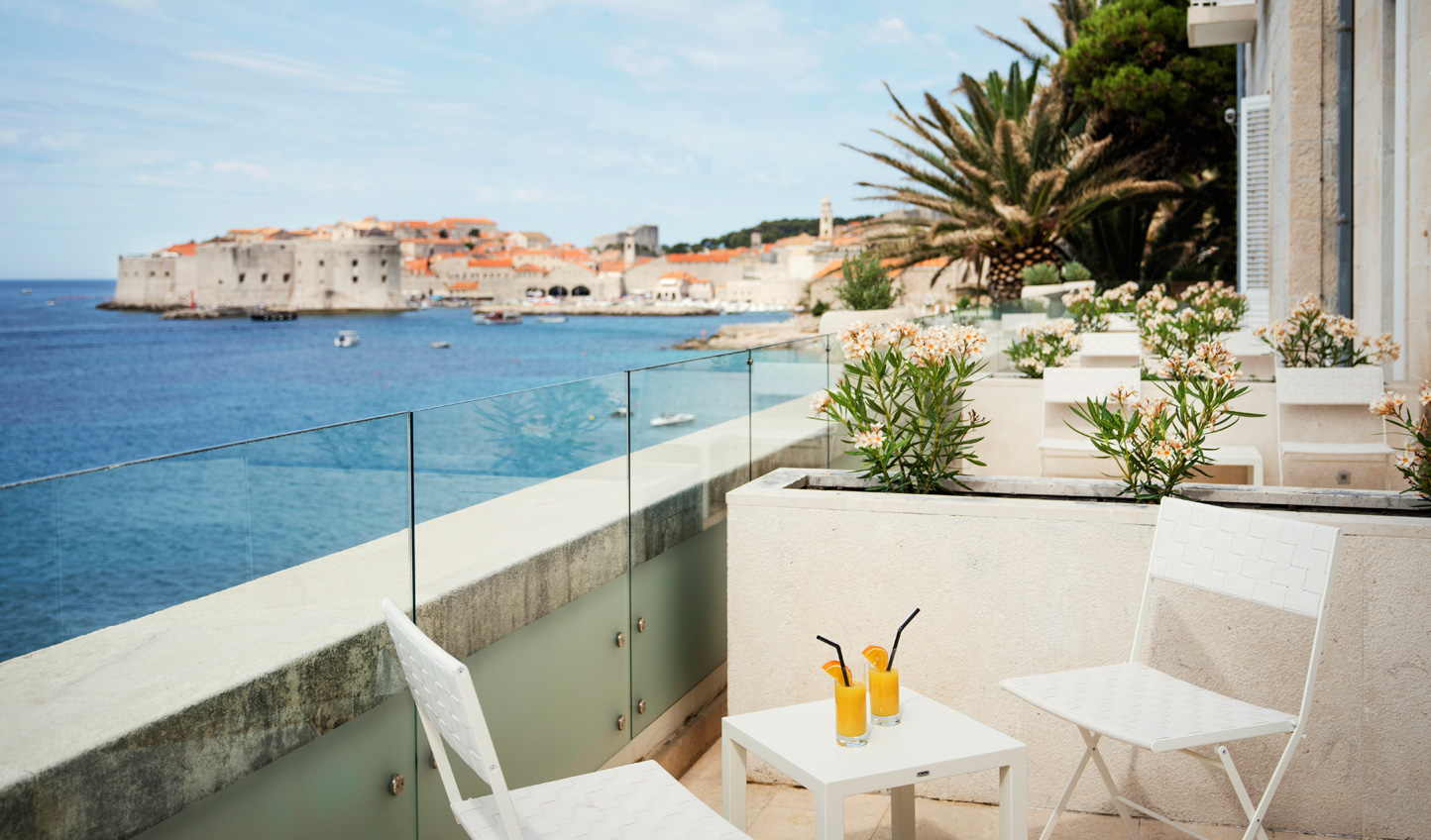 Start the day right with breakfast on your private balcony