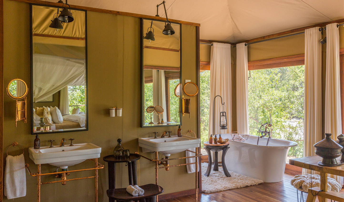 Embrace the old world luxury of a safari