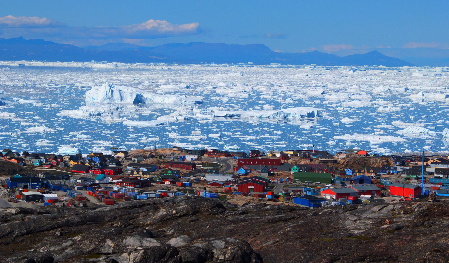 Spend two full days in the charming town of Ilulissat