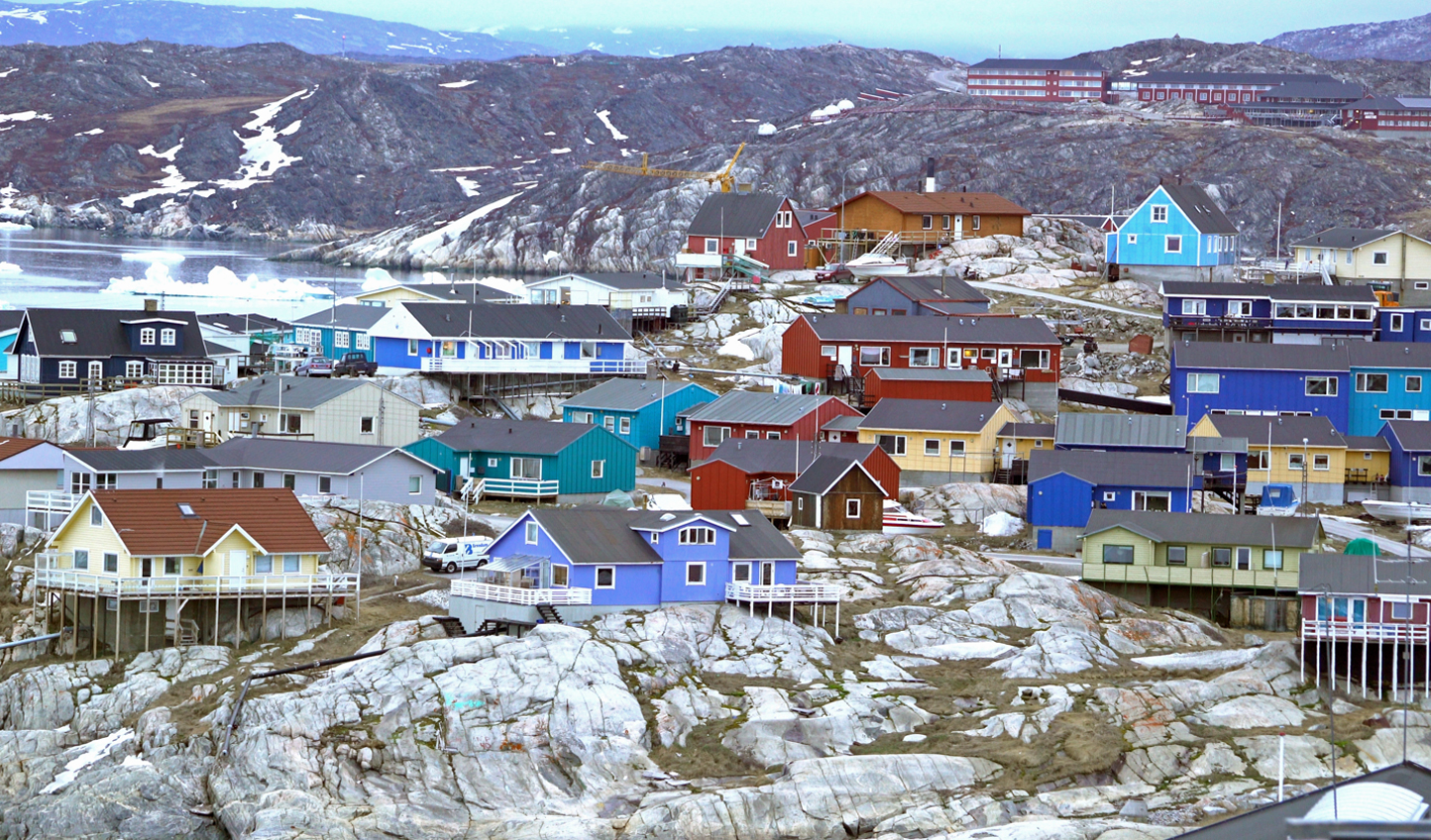 The colors of Greenland will completely awe you