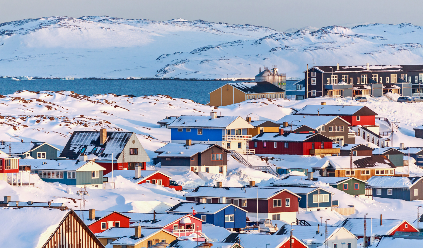 Start your journey in Nuuk, the biggest town in Greenland