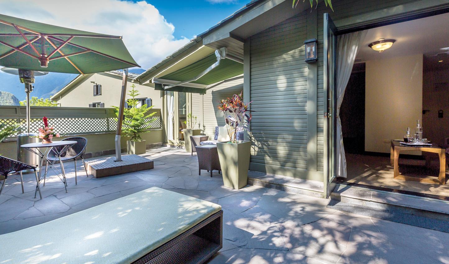 The Suite terrace