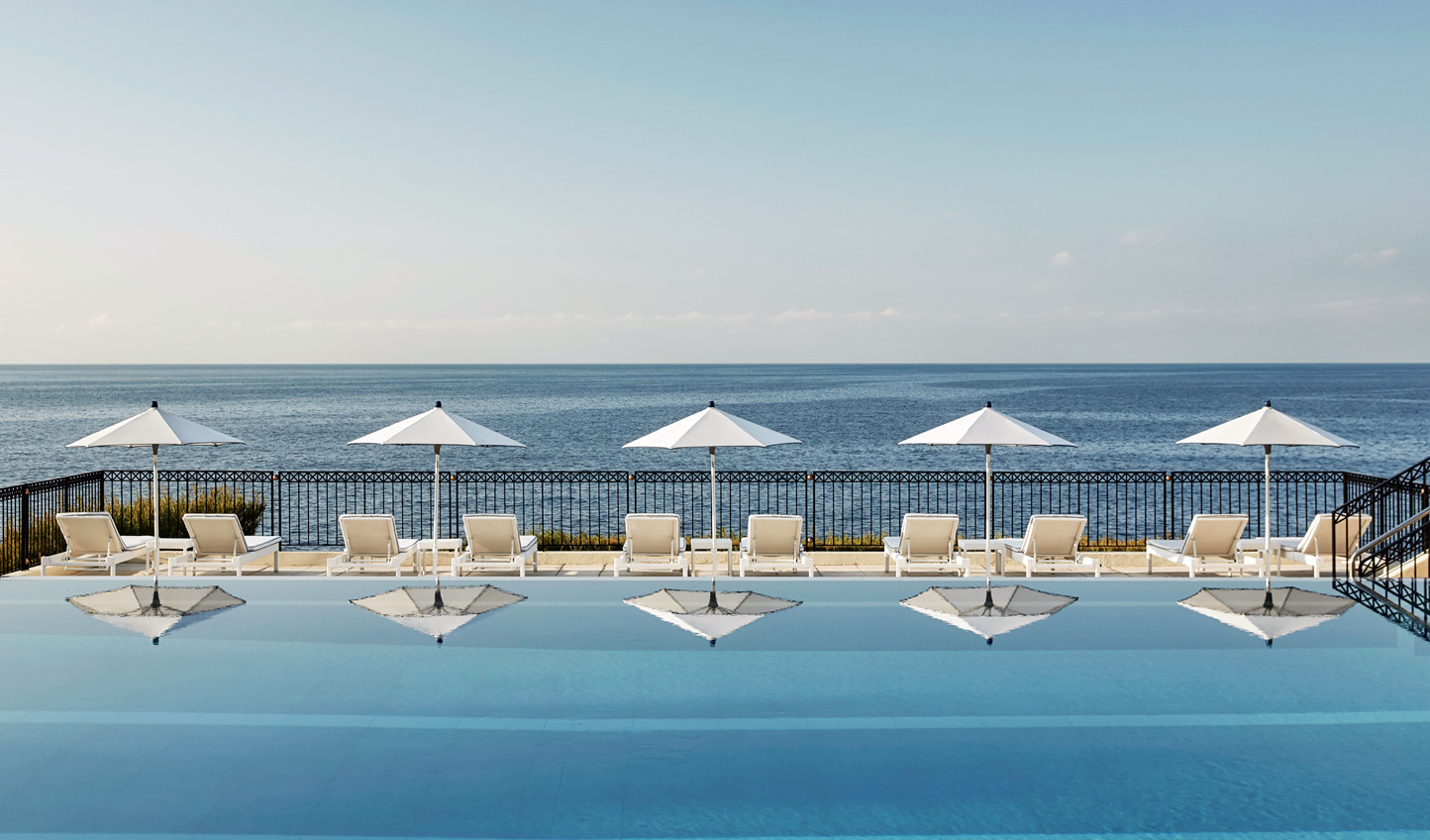 A fashionable place to catch some sun at Grand Hotel du Cap Ferrat