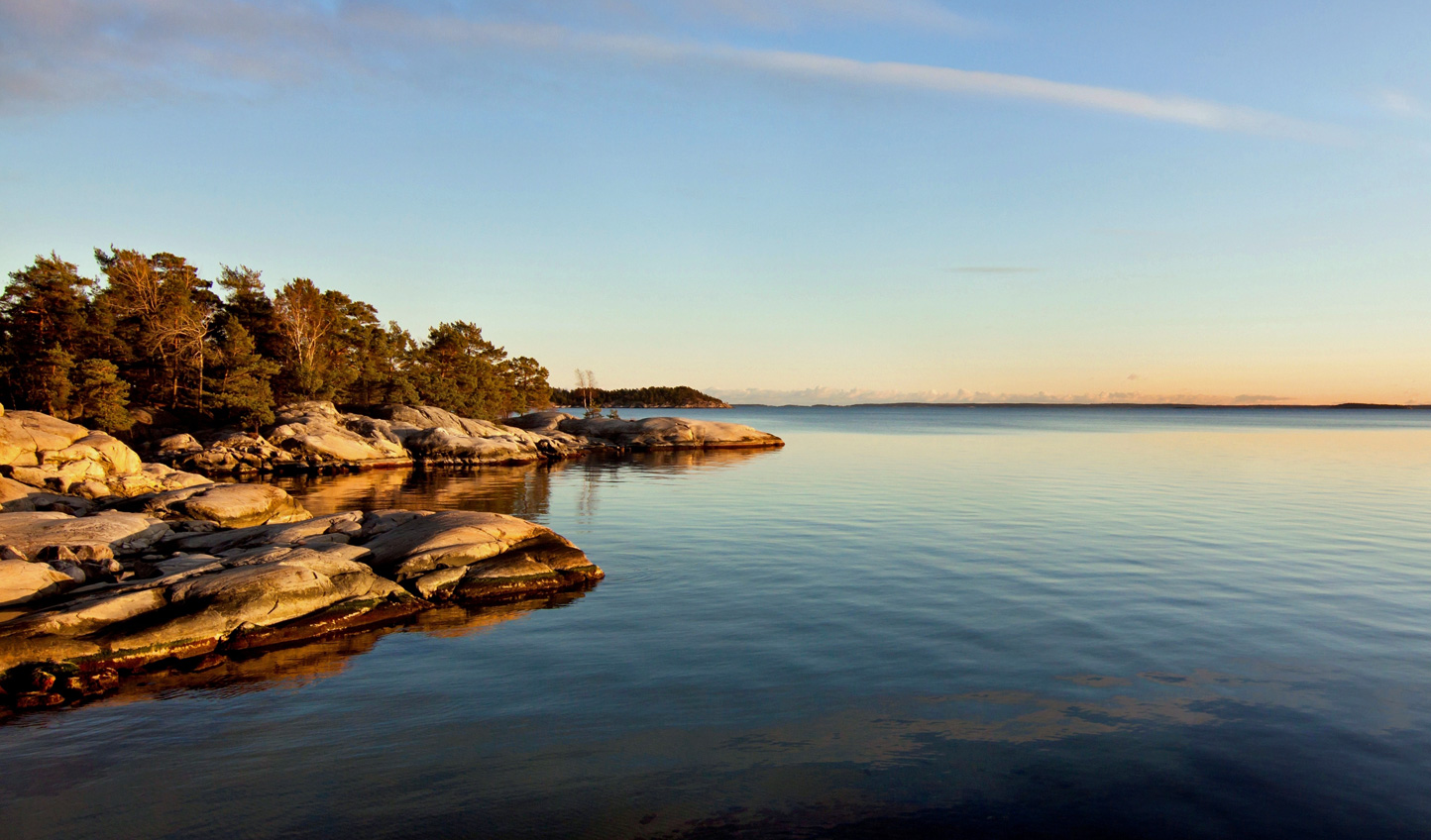 Find a peaceful spot out in the archipelago