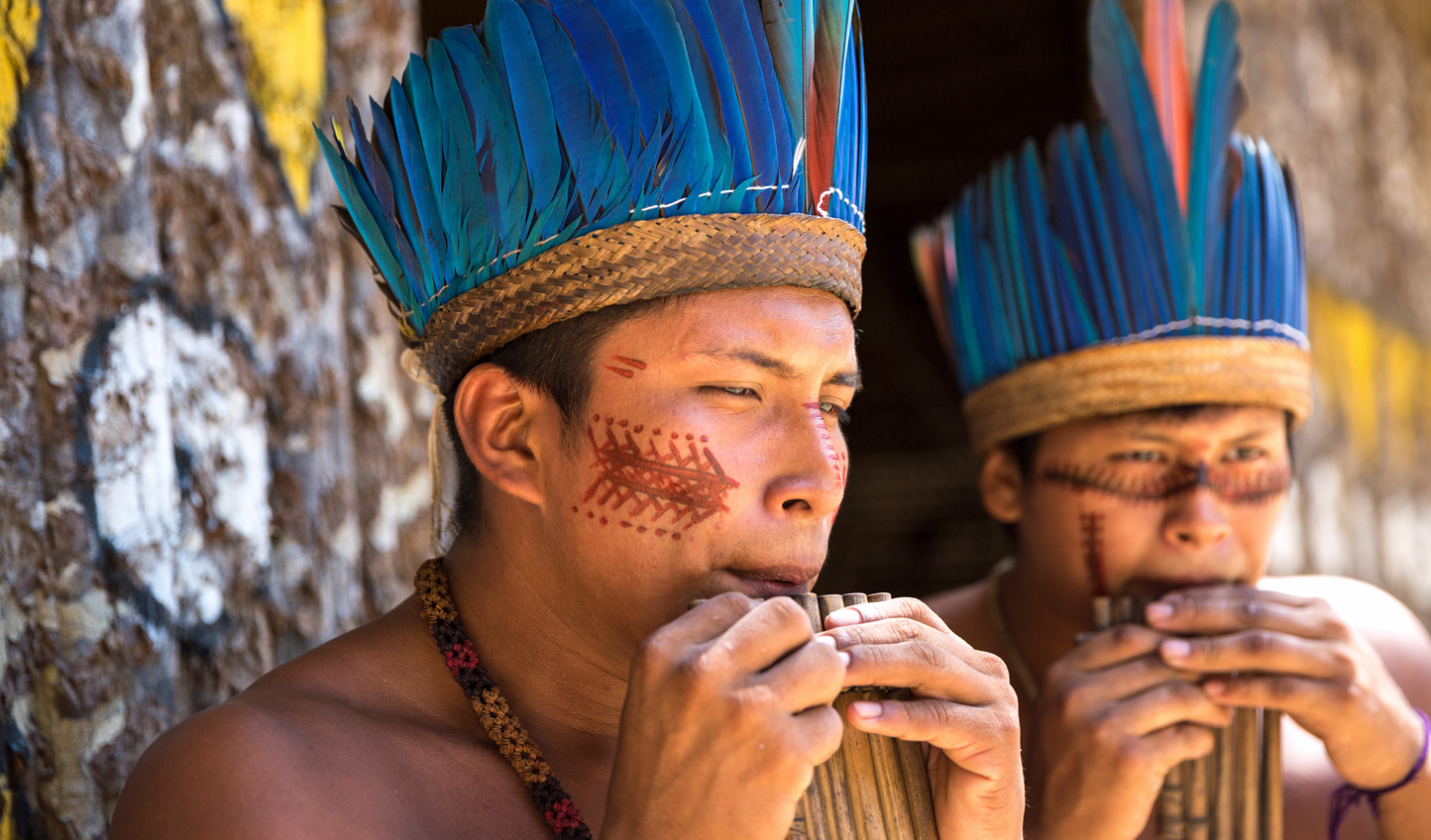 Get acquainted with local culture in rainforest villages.