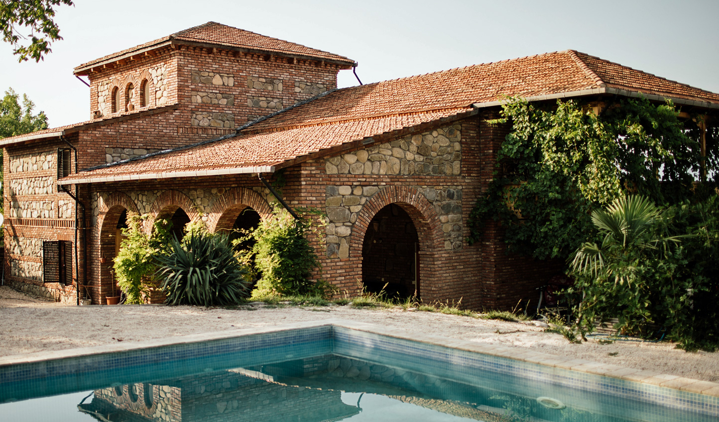 Revel in the peace and tranquility of Chateau Svanidze