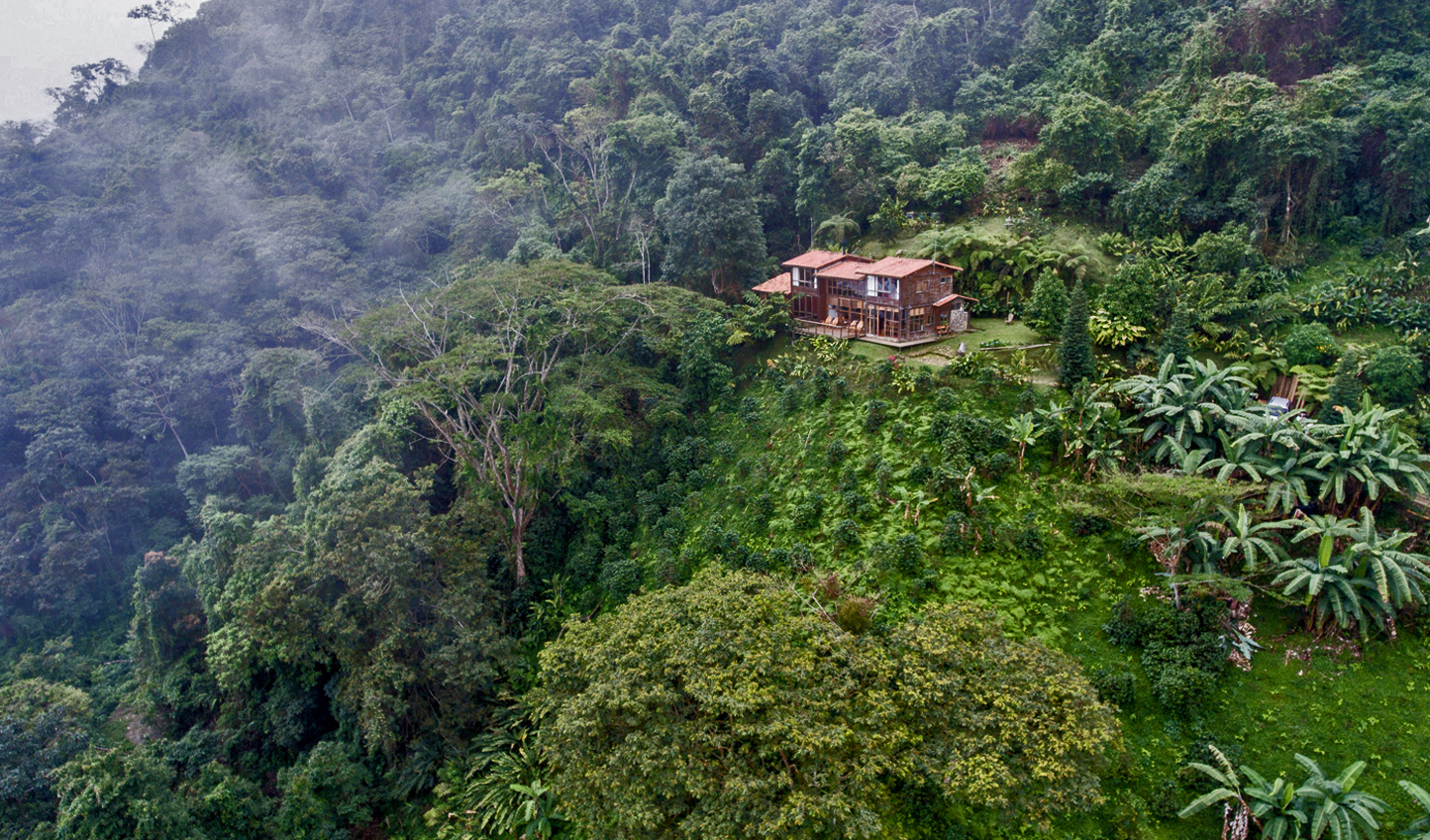 Sequestered in lush mountains is Casa Galavanta