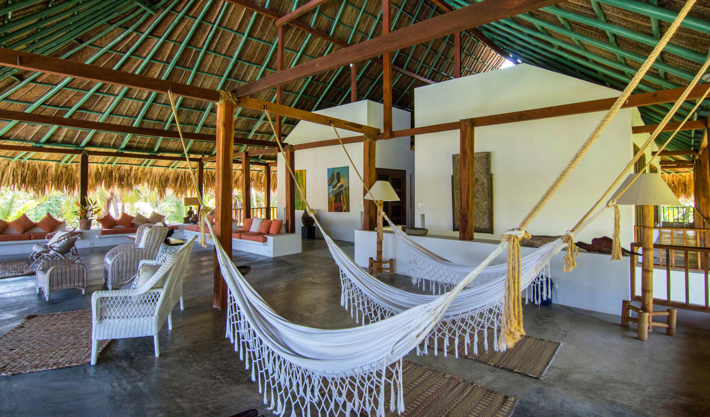 Check in at Villa Playa Tayrona and instantly feel at ease