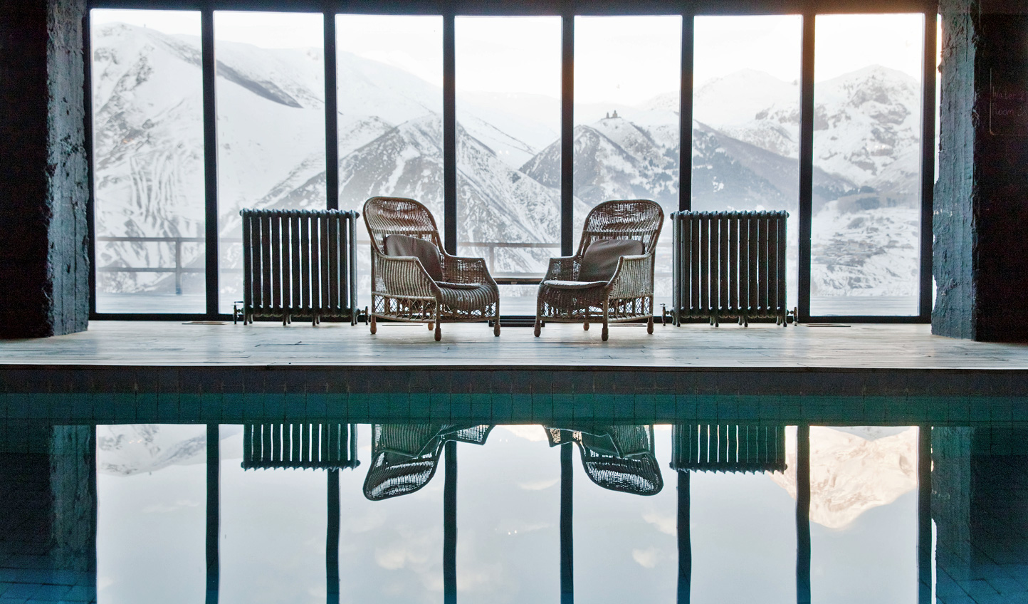Take the plunge in a swim with a view