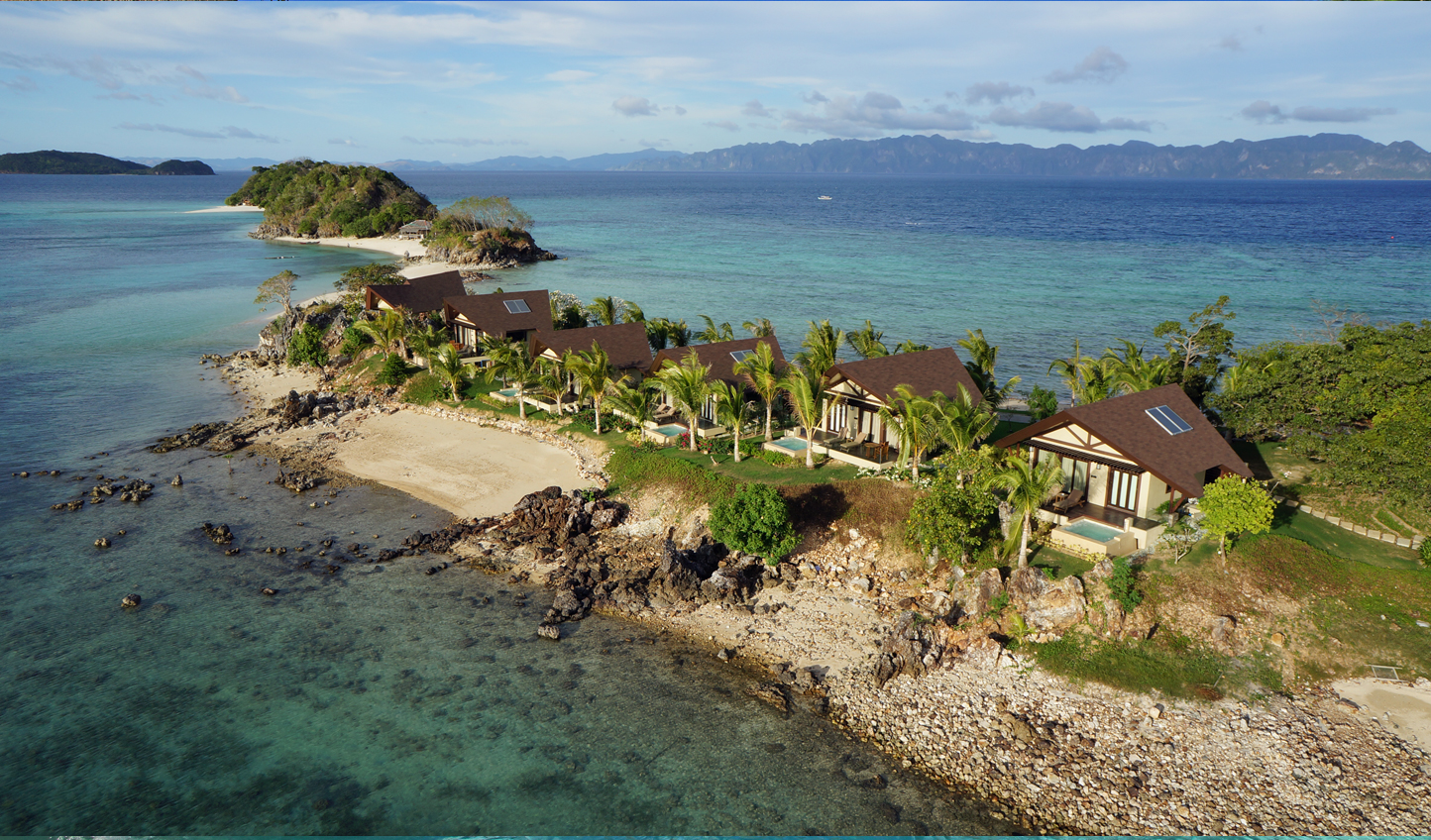 The Island Tip bungalows are some of our favourites