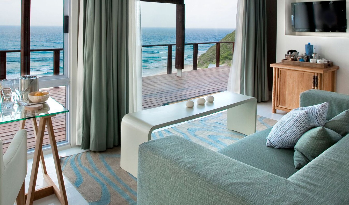 Wake up to sounds of the ocean and salty air