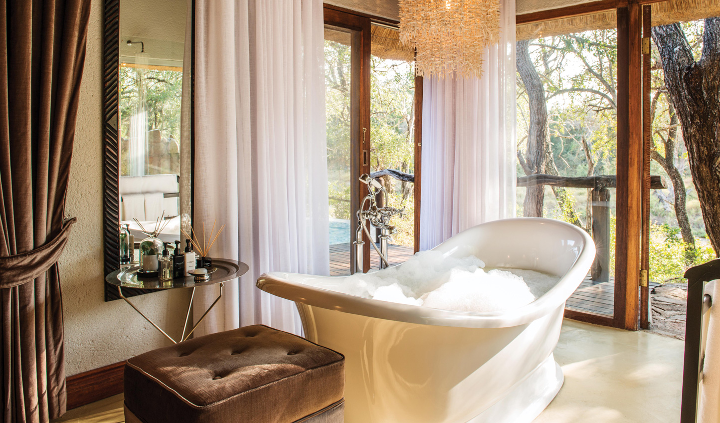 Pamper yourself with a large and luxurious bathroom