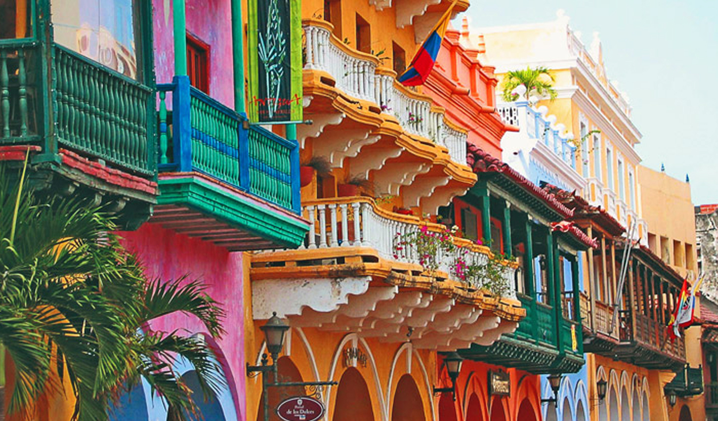 The enchanting colours of Cartagena