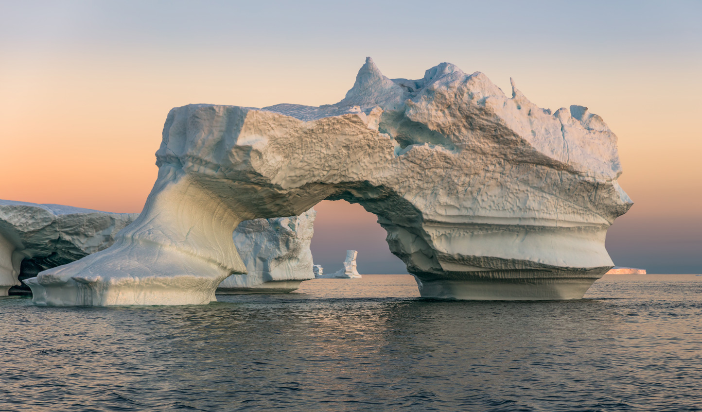 Just one of the magnificent icebergs in Disko Bay